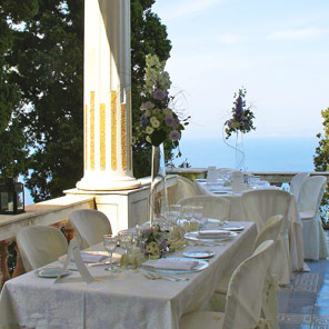 Locations for events Capri